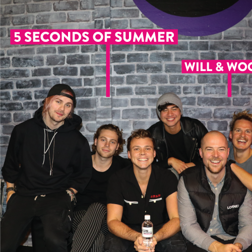 5 Seconds of Summer Join The Will & Woody Show