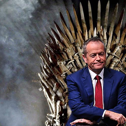 """I'm Jon Snow"" - Bill Shorten"