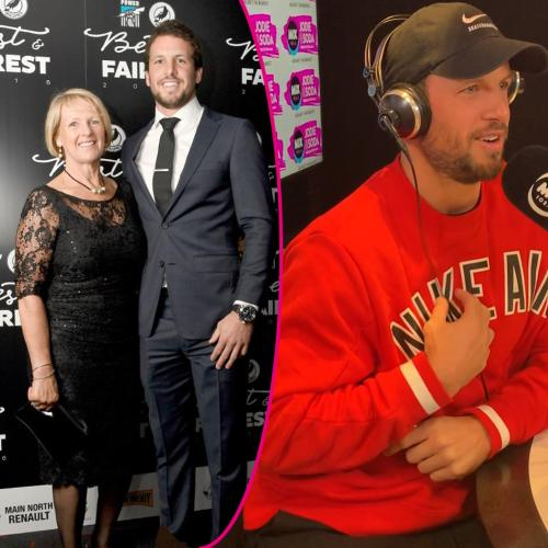 Travis Boak's surprise call from his Mum gets emotional