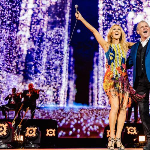 Watch Celine Dion Sing You're The Voice With John Farnham!