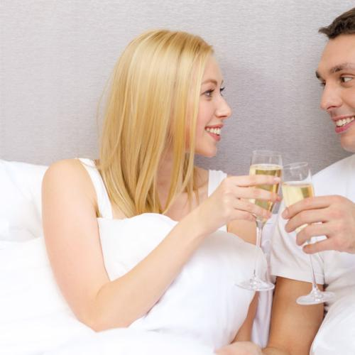 The Amazingly Healthy Reason To Drink Wine Before Bed