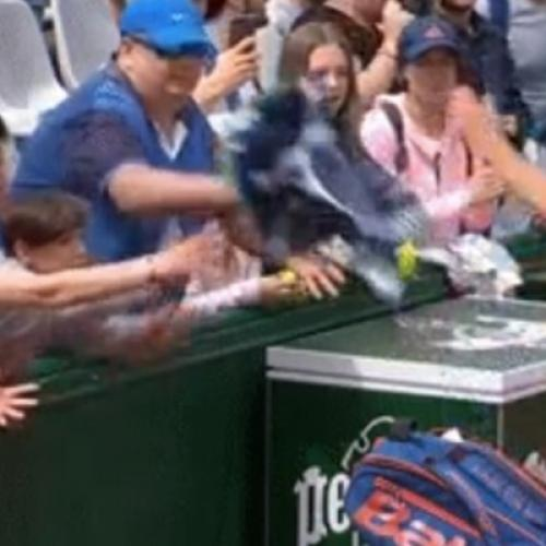 Tennis Fan's Disgraceful Act At French Open Goes Viral