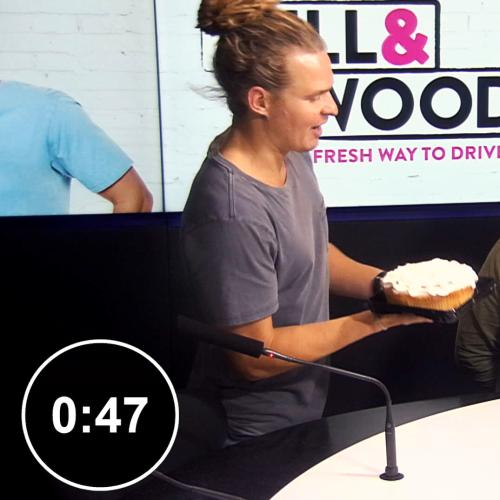 Nothin' Like A Good Ol' Cream Pie To The Face Live On Air!