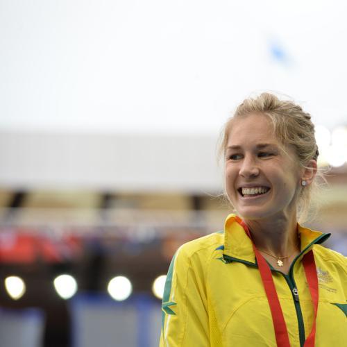 Bronze Medallist Jess Trengove