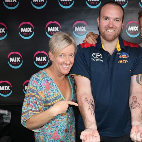 Blake From Seaford Meadows Gets Tayla Harris Tattooed On Arm