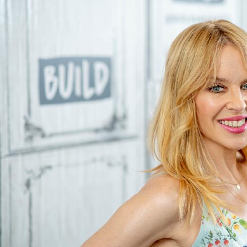 Kylie Minogue Backs Australia In Eurovision