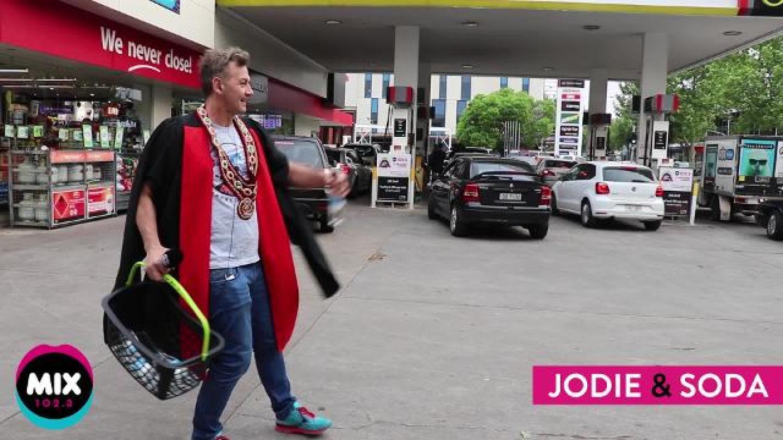 Mayor Soda's Petrol Price Drop