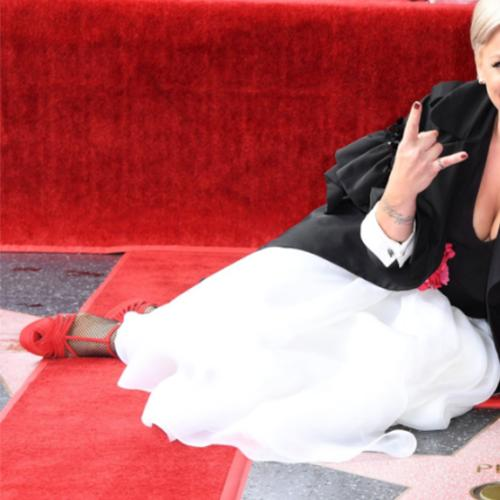 P!nk Received A Star On Hollywood Walk Of Fame
