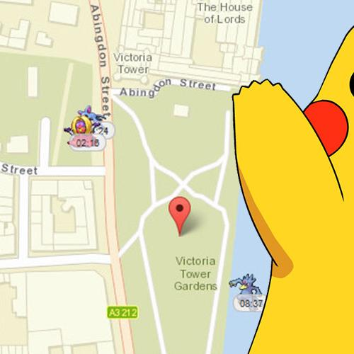 New Map Helps You Find All The Pokemon Near You