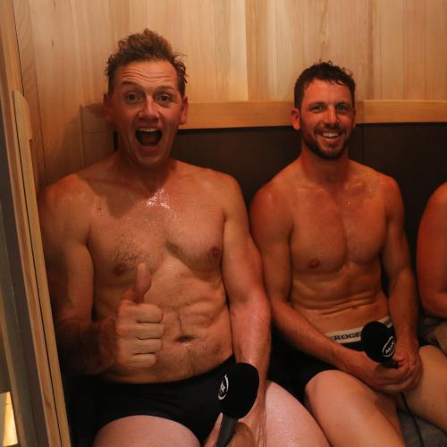 Jodie and Soda's Travis Boak interview from his home sauna
