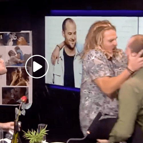 Did Will & Woody Just French Kiss Live On Air?