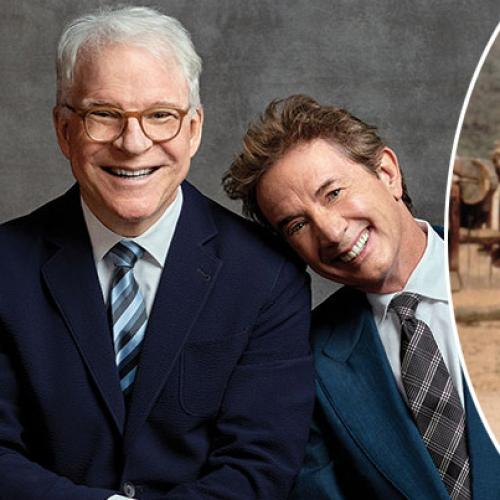 Steve Martin and Martin Short bring comedy tour to Australia