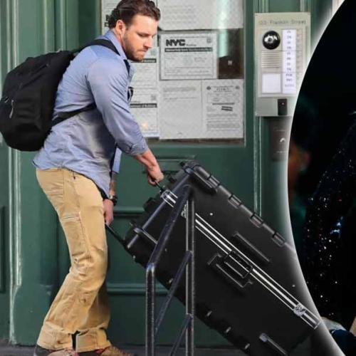 CONFIRMED: Taylor Swift Does Get Transported In A Suitcase