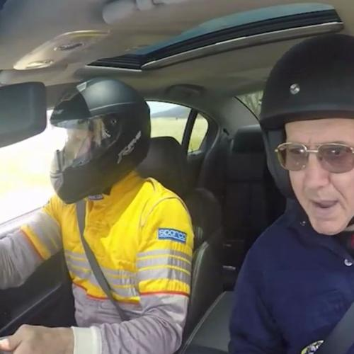 Soda's Adelaide Rally Test Drive With His Dad 'Dr Phil'