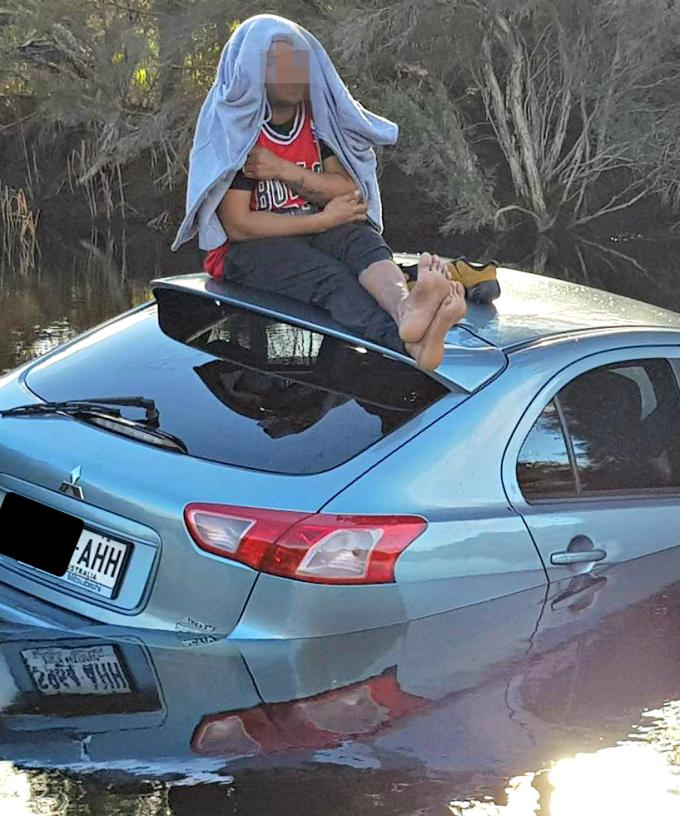 Just Waiting For A Mate Man Charged After Car Ends Up In Adelaide