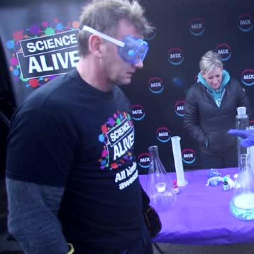 Science Alive - Making Bubbles