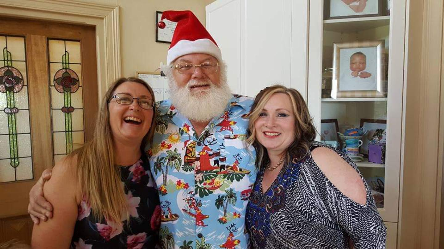 Aussie Santa Is About To Get The Surprise Of A Lifetime