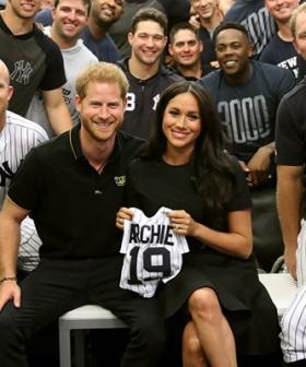 Meghan Markle Makes Surprise Appearance With Prince Harry