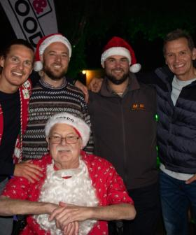 Given Just Months To Live, 'Aussie Santa' Gets One More Christmas