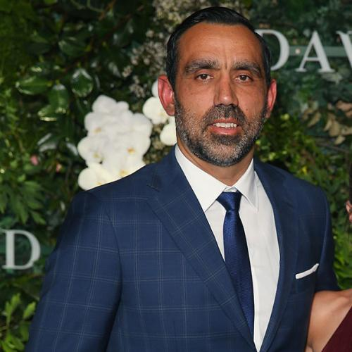 Afl Star Adam Goodes And Wife Welcome Their First Child