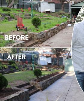Jodie and Soda's backyard renovation rescue for Meagan