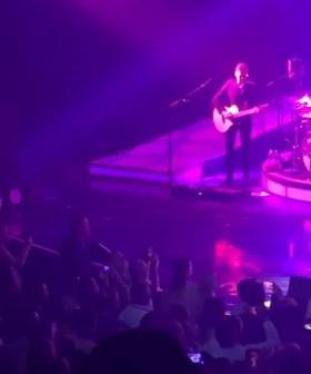 Robbie Williams Serenades Adelaide Woman Onstage