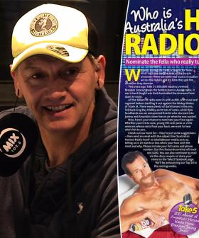 """I feel victimised"": Soda Up For Aussie Radio's Hottest Hunk"