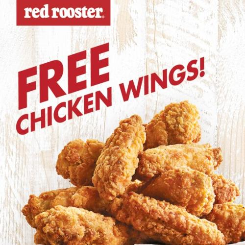 An Adelaide Red Rooster Is Giving Out Free Chicken Wings Tomorrow