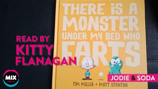 """There's A Monster Under My Bed Who Farts"",💨 Read By Kitty Flanagan"