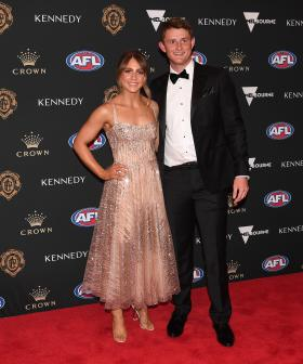 http://Matt%20Crouch%20of%20the%20Adelaide%20Crows%20and%20his%20partner%20Ellie%20Symons%20arrive%20at%20the%202019%20Brownlow%20Medal%20ceremony.