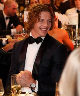 http://Nat%20Fyfe%20of%20the%20Fremantle%20Dockers%20celebrates%20during%20the%202019%20Brownlow%20Medal%20Count%20at%20Crown%20Palladium.