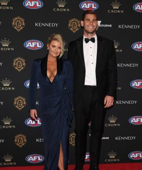 http://Geelong's%20Tom%20Hawkins%20and%20his%20wife%20Emma%20Hawkins%20arrives%20ahead%20of%20the%202019%20Brownlow%20Medal%20at%20Crown%20Palladium.