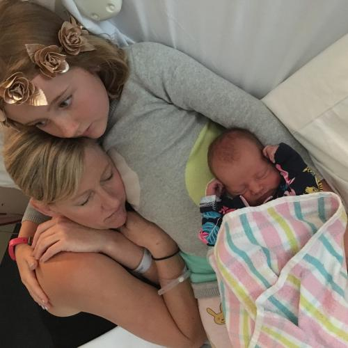 """She's A Little Angel"": Jodie So In Love With Baby No. 4"