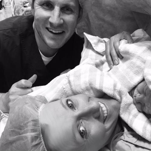 """It's A Girl! Jodie And Greg Oddy Welcome """"Perfect"""" New Daughter"""