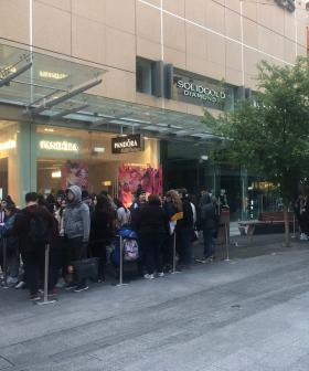 Hundreds Sleep In Rundle Mall As Sephora Opens Its Doors