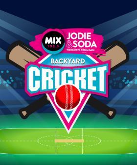 Mix102.3 Greatest Game of Backyard Cricket