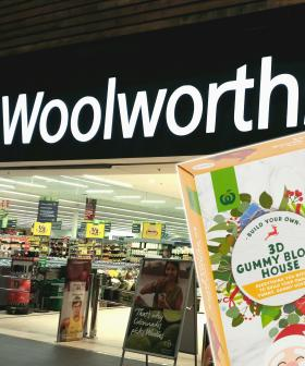 Forget Ginger Bread Houses, Woolworths Now Has A Christmas House Made Out Of Gummy Lollies