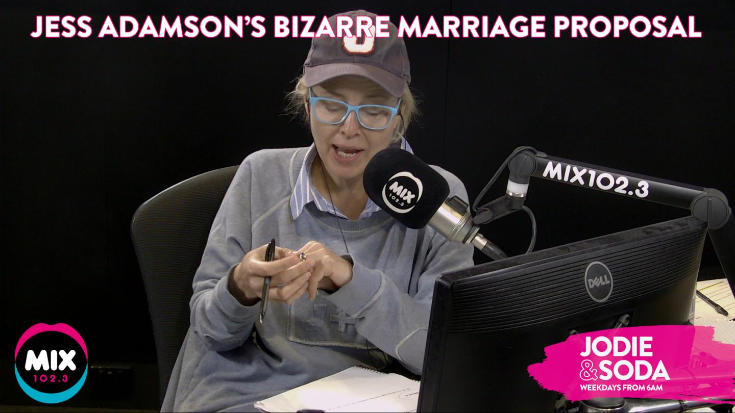 The Bizarre But Super Cute Way Jess Adamson Was Proposed To