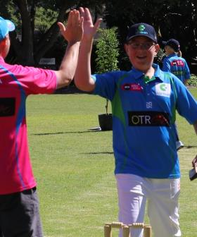 Dreams Come True For Two Young Cricket Fans