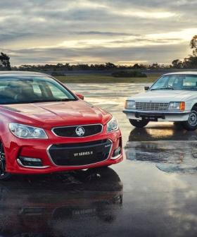 Holden To Axe The Commodore After 41 Years