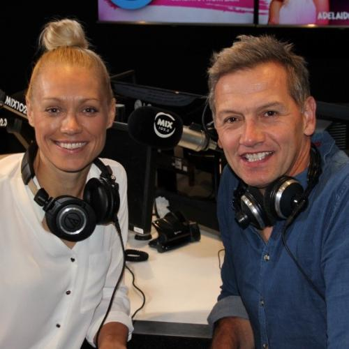 Erin And Soda! Erin Phillips To Join Mix102.3 Breakfast Show Before Jodie Returns