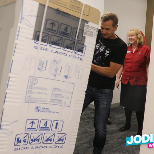 Soda Installs New Fridge At Adelaide Work Place That Really Needed It