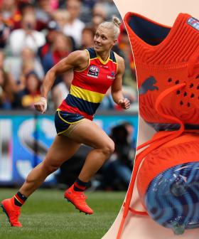 Erin Phillips To Auction Her Most Prized Footy Boots To Help SA Wildlife Recovery