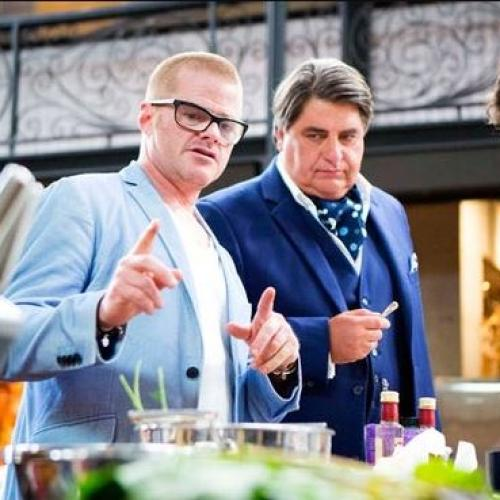 Heston Blumenthal Dropped From MasterChef Australia