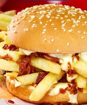 PSA: Hungry Jacks Now Sell A Bacon And Hot Chip Burger
