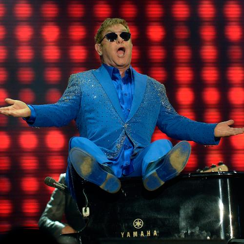 Elton John To Host Live Benefit Concert From His Living Room Next Week