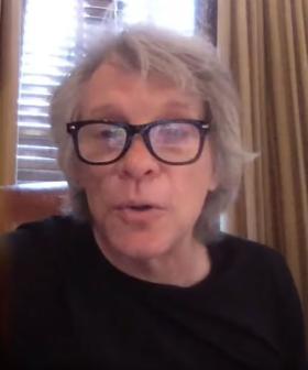Jon Bon Jovi Dropped In On Kindergarten's Online Class To Perform Songs Written By The Kids