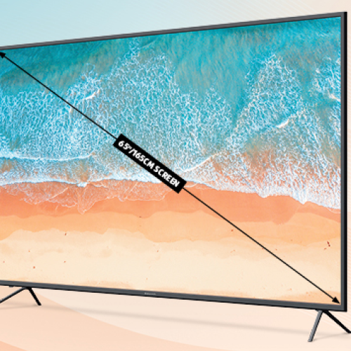 WHOA- ALDI IS FLOGGING A 65 INCH TV FOR ONLY $529