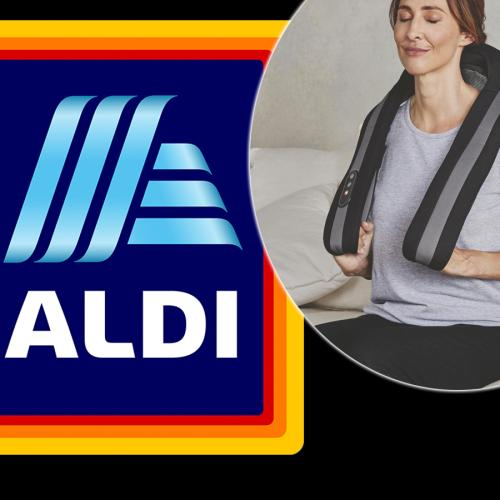 Feeling The Pain Of WFH? ALDI Is Bringing Out A Shiatsu Neck And Shoulder Massager