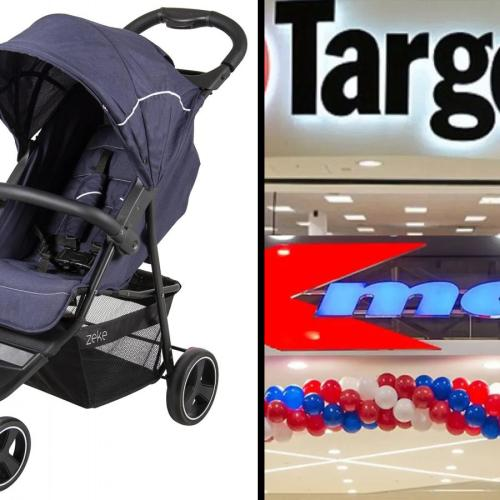 URGENT RECALL: Series Of Baby Strollers Sold At Kmart And Target